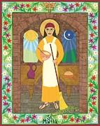 St. Martha Icon Print by David Raber