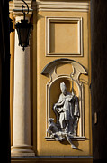 Christian Artwork Photo Metal Prints - St Martins Church Architectural Details Metal Print by Artur Bogacki
