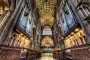 Ceiling Prints - St Mary Print by Adrian Evans