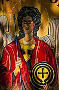 Folk Art Photos - St. Michael  by Robert Ullmann