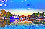 Pier Digital Art - St Michaels Autumn by Bill Cannon