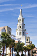 St Photos - St Michaels Church Charleston SC 3 by Dustin K Ryan