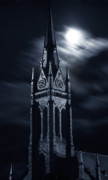 Inspirational Prints - St Nicholas Church Wilkes Barre Pennsylvania Print by Arthur Miller