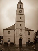 Lanarkshire Prints - St Nicholas Parish Church Lanark Print by Yvonne Johnstone