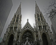 Marble Art - St. Patricks Cathedral  by Angela Wright