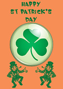Leprechaun Digital Art - St Patricks Day  by Anthony Caruso