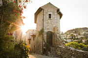 Saint Paul De Vence Framed Prints - St Paul De Vence Framed Print by Caterina Bernardi