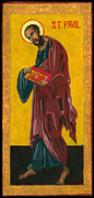 Orthodoxy Posters - St Paul Poster by Jennifer Richard-Morrow