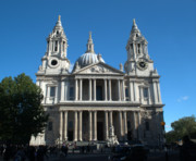 St Pauls Cathedral Print by Chris Day