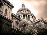 St. Paul's Cathedral Print by Thanh Tran