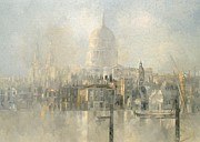 Cathedral Paintings - St Pauls by Peter Miller
