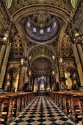 Cathedrals Framed Prints - St. Peter and Paul Cathedral Framed Print by Kim Zier