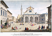 1750 Framed Prints - St. Peter At Florence Framed Print by Granger