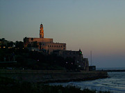 St. Peter's Church Old Jaffa - Israel Print by Joshua Benk