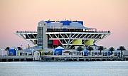 Saint Petersburg Prints - St. Petersburg pier Print by David Lee Thompson
