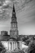 St. Phillips Episcopal Church Print by Drew Castelhano