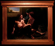 Catholic  For Sale Paintings - St. Sebastian Attended by St. Irene by Eric  Armusik