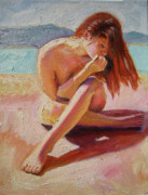 St. Tropez Beauty Print by Pixie Glore