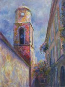 Tropez Paintings - St. Tropez by Bonnie Goedecke