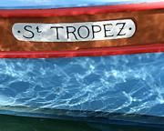 St. Tropez Print by Lainie Wrightson