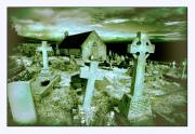 Crosses Photos - St. Tudnos Church Great Orme by Mal Bray