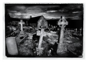 Infra Red Prints - St Tudnos Church Print by Mal Bray