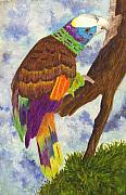 Tropical Birds Art - St. Vincent Parrot by Michael Vigliotti