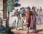 St Vitus Posters - St. Vitus Dance, 1823 Poster by Science Source
