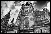 Gothic Cathedral Framed Prints - St. Vitus Framed Print by Jason Wolters