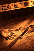 Forensic Art - Stabbing by Olivier Le Queinec