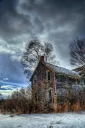 Abandoned Houses Prints - Stacey 2 Print by Wayne Stadler