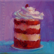 Gourmet Art Paintings - Stack of Love by Penelope Moore
