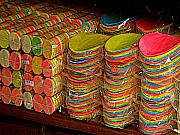 Stacks Of Sweets Print by Olden Mexico