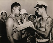 Boxing Photo Framed Prints - Staff Sergeant Joe Louis, World Framed Print by Everett