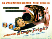 Lobbycard Prints - Stage Fright, Michael Wilding, Richard Print by Everett