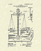 Magic Drawings - Stage Illusions 1906 Patent Art by Prior Art Design