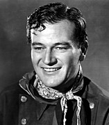 Bib Shirt Prints - Stagecoach, John Wayne, 1939 Print by Everett