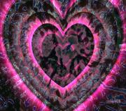Faniart Digital Art - Stages of Rescued Heart by Fania Simon