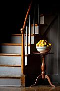 Stairs Art - Staicase Lemons by Lone  Dakota Photography