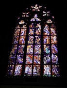 Religious Art Photos - Stain Glass Window by Madeline Ellis
