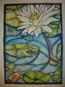 Lee Stockwell - Stained Glass Frog