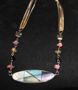 Photography Jewelry Originals - Stained Glass by Jana Landon