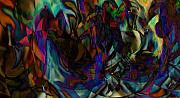 Trippy Digital Art - Stained Glass by Joshua Sunday
