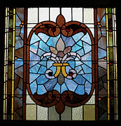 Stained Glass Lc 19 Print by Thomas Woolworth