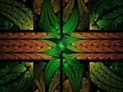 Dreamlike Framed Prints - Stained Glass Framed Print by Lyle Hatch