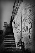 Graffiti Steps Prints - Staircase I Print by Kelly Hazel