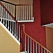 Staircase Prints - Staircase Print by Sarah Loft