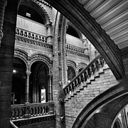 Williams Metal Prints - Stairs and Arches Metal Print by Martin Williams