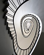 Spiral Pyrography - Stairs by Anne Seltmann