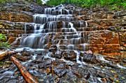 Idaho Scenery Posters - Stairs of Water Poster by Scott Mahon